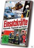 Einsatzkräfte: Feuerwehr, Flugwacht und Polizei