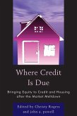 Where Credit is Due (eBook, ePUB)