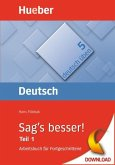 Sag's besser! (Teil 1) (eBook, PDF)