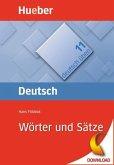 Wörter und Sätze (eBook, PDF)