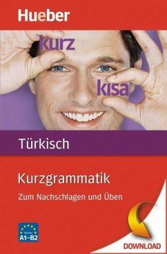 Kurzgrammatik Türkisch (eBook, PDF) - Çakir, Hasan