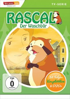 Rascal der Waschbär Komplettbox DVD-Box
