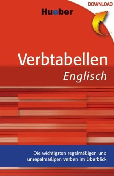 Verbtabellen englisch ebook pdf von georgina hodge buecher fandeluxe Image collections