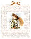 Marjoleins Eichhörnchen im Schnee Adventskalender