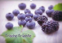 Frische Früchte (Wandkalender immerwährend DIN A3 quer)