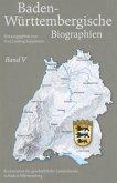 Baden-Württembergische Biographien. Band 05