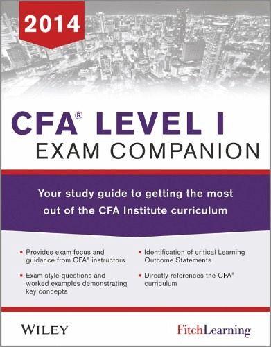 cfa exam study guide pdf