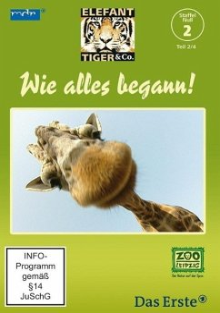 Elefant, Tiger & Co. - Staffel Null - Wie alles begann Teil 2, 1 DVD