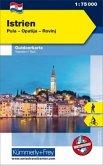 Kümmerly & Frey Outdoorkarte, Kroatien - Istrien