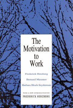 The Motivation to Work (eBook, PDF)