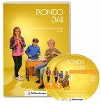 3./4. Schuljahr, 2 Audio-CDs / Rondo, Musiklehrgang für die Grundschule, Neuausgabe
