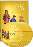 3./4. Schuljahr, 5 Audio-CDs und 1 Tanz-DVD / Rondo, Musiklehrgang für die Grundschule, Neubearbeitung
