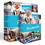 Postkarten-Album mit 50 Hüllen B-Design