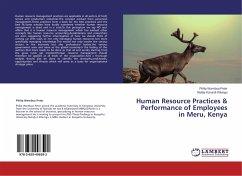 Human Resource Practices & Performance of Employees in Meru, Kenya