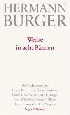 Werke in acht Bänden - Burger, Hermann