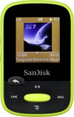 SanDisk SDMX24-008G-G46L MP3 Player Clip Sport 8 GB MP3-Player Lime