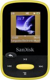 SanDisk SDMX24-008G-G46Y MP3 Player Clip Sport MP3-Player (8GB) gelb