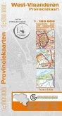 West-Flandern Provinzkarte 1 : 100 000