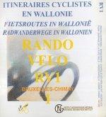 RV 1 Radwege Wallonien Brüssel / Chimay / Rando Velo 1 : 50 000