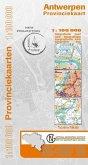 Antwerpen Provinzkarte 1 : 100 000