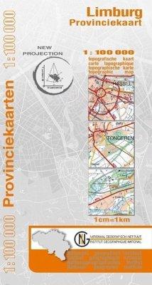 Limburg Provinzkarte 1 : 100 000