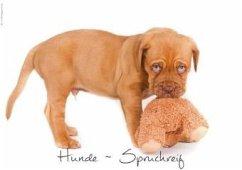 Hunde-Spruchreif (Posterbuch DIN A3 quer)