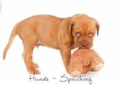 Hunde-Spruchreif (Posterbuch DIN A4 quer)