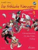 Die fröhliche Klarinette, m. Audio-CD