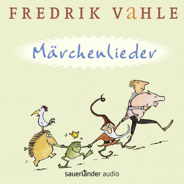 m rchenlieder audio cd von fredrik vahle h rbuch. Black Bedroom Furniture Sets. Home Design Ideas