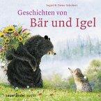 Geschichten von Bär und Igel, 1 Audio-CD