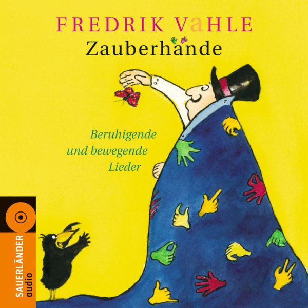 zauberh nde 1 audio cd von fredrik vahle h rb cher. Black Bedroom Furniture Sets. Home Design Ideas