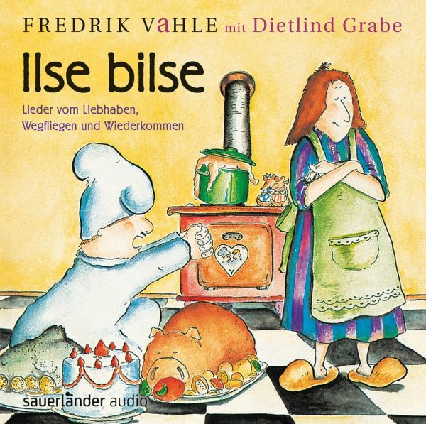 ilse bilse 1 cd audio von fredrik vahle dietlind grabe. Black Bedroom Furniture Sets. Home Design Ideas