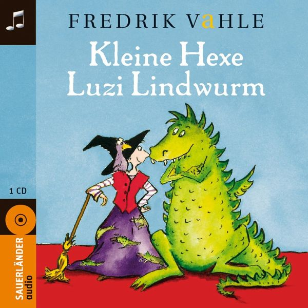 kleine hexe luzi lindwurm 1 audio cd von fredrik vahle. Black Bedroom Furniture Sets. Home Design Ideas