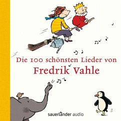 Die 100 schönsten Lieder von Fredrik Vahle, 4 Audio-CDs - Vahle, Fredrik