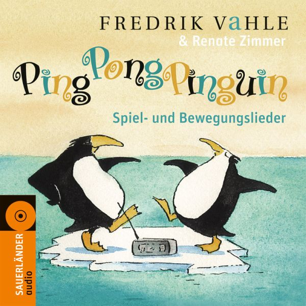 ping pong pinguin 1 audio cd von fredrik vahle renate. Black Bedroom Furniture Sets. Home Design Ideas
