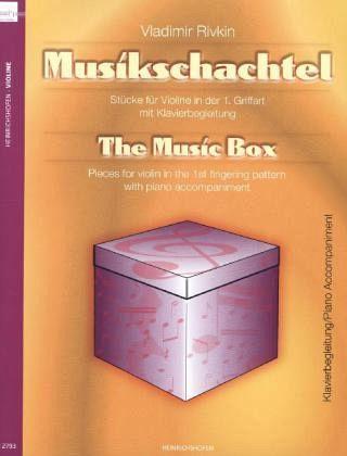 musikschachtel klavierbegleitungthe music box von vladimir rivkin noten portofrei bei b cher. Black Bedroom Furniture Sets. Home Design Ideas