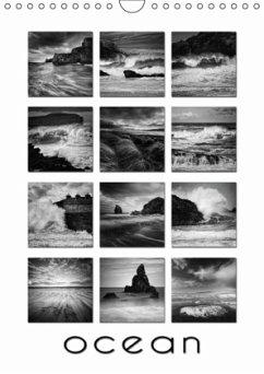 Ocean / UK-Version (Wall Calendar perpetual DIN A4 Portrait)