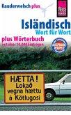Reise Know-How Sprachführer Isländisch - Wort für Wort plus Wörterbuch