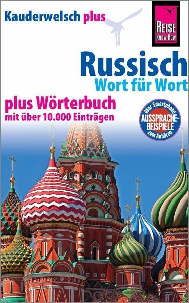 Kauderwelsch plus Russisch - Wort für Wort