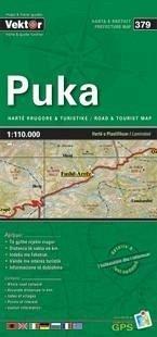 Puka Provinzkarte 1 : 110 000 GPS