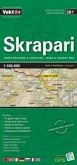 Skrapari Provinzkarte 1 : 100 000 GPS