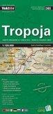 Tropoja Provinzkarte 1 : 120 000 GPS