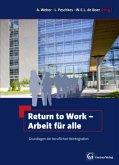 Return to Work - Arbeit für alle