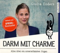 Darm mit Charme, 3 Audio-CDs - Enders, Giulia