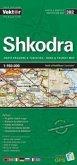 Shkodra Provinzkarte 1 : 150 000 GPS