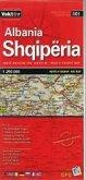 Albanien Große Straßenkarte 1 : 250 000 GPS
