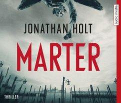 Marter / Capitano Katerina Tapo Bd.1 (6 Audio-CDs) - Holt, Jonathan