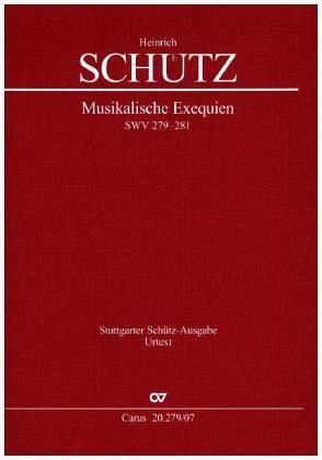Musikalische Exequien I-III, Studienpartitur - Schütz, Heinrich