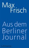 Aus dem Berliner Journal (eBook, ePUB)