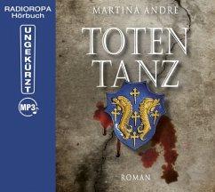 Totentanz, 2 MP3-CDs - André, Martina